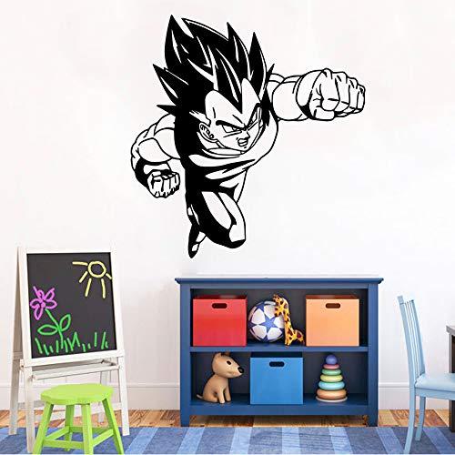 Ball Z DBZ Anime Poster Wandtattoo Fenster Vinyl Aufkleber Für Kinderzimmer Dekoration Schlafzimmer Dekor 57x59 cm ()