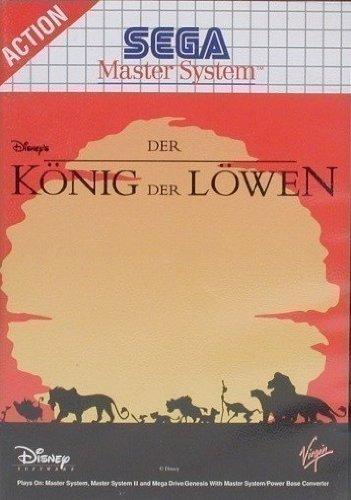 Der König der Löwen (Master System) gebr.