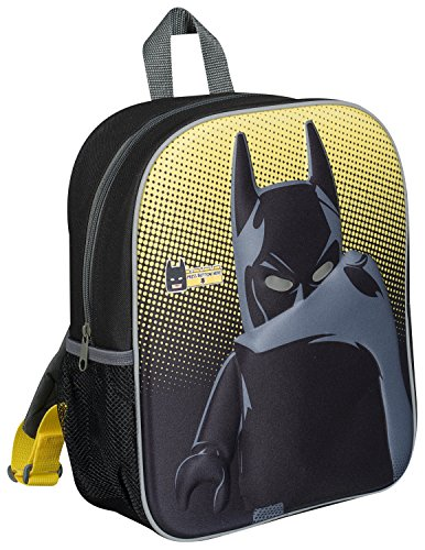 Price comparison product image THE LEGO BATMAN MOVIE 3D LED CHILDRENS BACKPACK LIGHT UP EYES KIDS SCHOOL HOLIDAY TRIP BAG 8205
