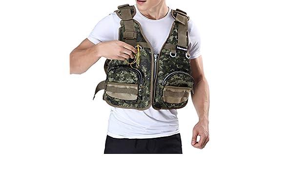 Free Size Fly fishing Vest Limited Item Backpack Multipurpose Pocket Vest