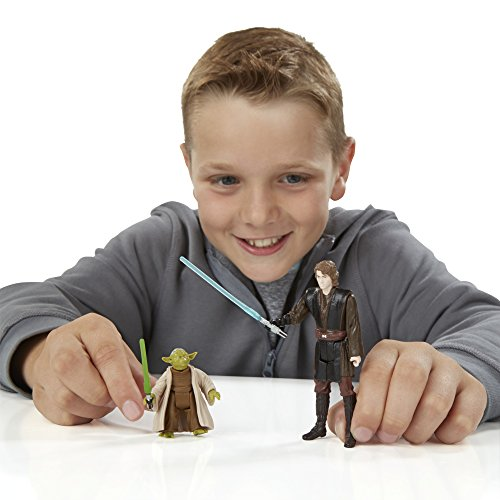 Star Wars Rache der Sith 3.75-Inch Wald Mission Anakin Skywalker und Yoda-figur (Doppelpack) - 5