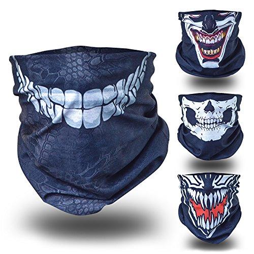 BlackNugget-Bedrucktes-Multifunktionstuch-mit-Ausgefallenem-Design-Hochwertige-Sturmhaube-als-Wrm-und-Schutztuch-Halstuch-Face-Shield-Gesichtsmaske
