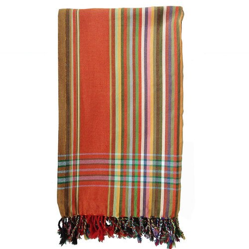 The Kikoy Factory Agatti Kikoy Towel Lilac