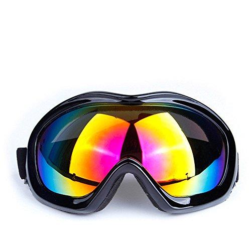 DESESHENME Männer Frauen UV400 Radfahren Brillen MTB Fahrrad Racing winddicht Skibrillen Outdoor Sport Brille Tour de France Racing Brille, Schwarz