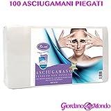 100 ASCIUGAMANI CARTA PIEGATI MONOUSO ROYAL FORMATO MAX 40x70 cm PROFESSIONALE