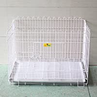 SL&ZX Plegable Metal Perro Cajón,Cerca del Animal doméstico,Cerca caseta Perro Grande Jaula