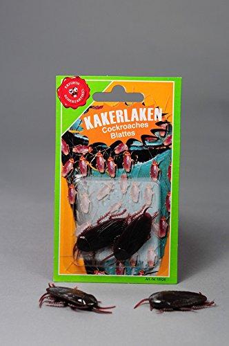 Kakerlaken Plastik Ungeziefer 2 St. Scherzartikel Joke Käfer