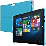 Microsoft Surface Pro 4 Case Incipio Ultra Thin Snap On Case feather HYBRID Case for Microsoft Surface Pro 4-Red Blue