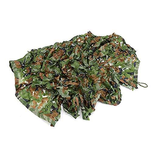 LIYIN-Voiles d'ombrage Hochleistungs-Beschattungsnetz 60% Woodland-Tarnnetz Tarnnetz Army-Tarnnetz Sunblock-Farbton UV-beständiges Netz für die Abdeckung von Gartenblumenpflanzen -