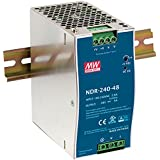Mean Well NDR-240-24 24V 10 Amp 240W Industrial DIN Rail Power Supply