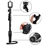 #6: Mystique® Bluetooth Selfie Stick with Remote and Zoom For Apple, Samsung, HTC, Lenovo, One plus, Motorola, Nexus, Xiaomi Redmi Phones, Coolpad