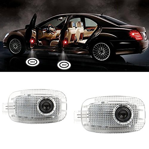 Grolish 2 X Wireless entry-level illuminazione luce Door Proiettore Logo Luce Automobile di Illuminazio