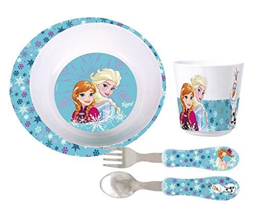 Tigex Set de Vaisselle Reine des Neiges