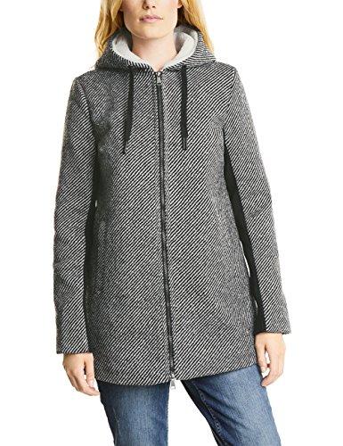 Cecil Damen Mantel 100198, Grau (Dark Grey 21029), X-Large