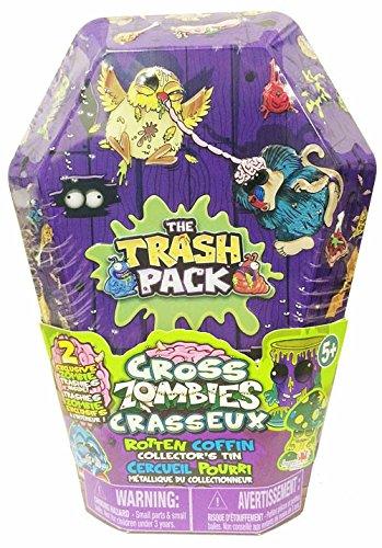 Trash Pack - 6645 - Figurine Vie Urbaine - Cercueil Métallique Avec 2 Personnages