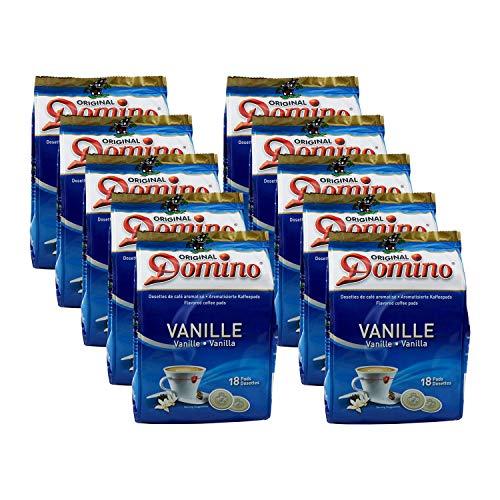 180 DOMINO (CASA COLON) Kaffeepads - Geschmacksrichtung Vanille