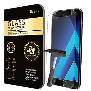 X2 Film Protecteur d'écran VITRE en VERRE TREMPE pour Samsung Galaxy A5 2017 Ultra Transparent