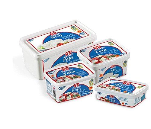 Griechischer FETA Dodoni 1kg Abtropfgewicht Fetakäse Schafskäse Käse aus Schafs- und Ziegenmilch in Lake – Original aus Griechenland