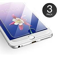 [3-Pack] Pellicola iPhone 6 / 6S, AXHKIO Pellicola Vetro Temperato per Apple iPhone 6 /iPhone 6S (4.7 Pollici) - [0,25mm HD Alta trasparente, 9H Durezza, 3D Touch Compatible]