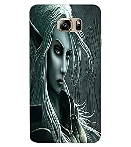 ColourCraft Vamp Look Design Back Case Cover for SAMSUNG GALAXY NOTE 7