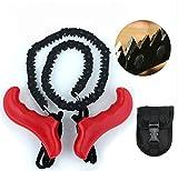 Joyoldelf bolsillo de la mano de la motosierra para la supervivencia del engranaje, por ejemplo Camping Gear, Kit de Supervivencia ect
