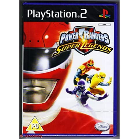 [Import Anglais]Power Rangers Super Legends Game PS2