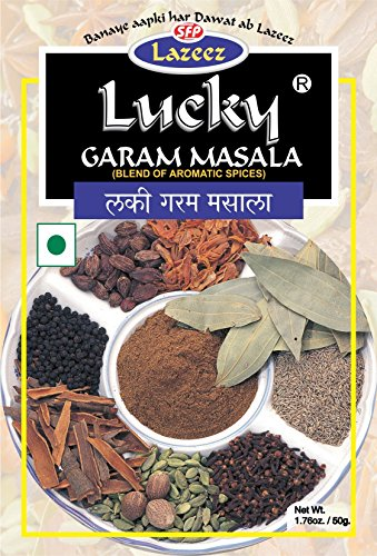 Lucky Garam Masala 50g. Pack of 2