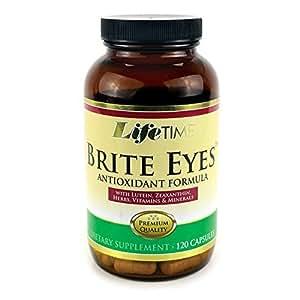 Life Time, les yeux Brite, avec FloraGlo lutéine, la Formule pour la santé des yeux, 120 capsules