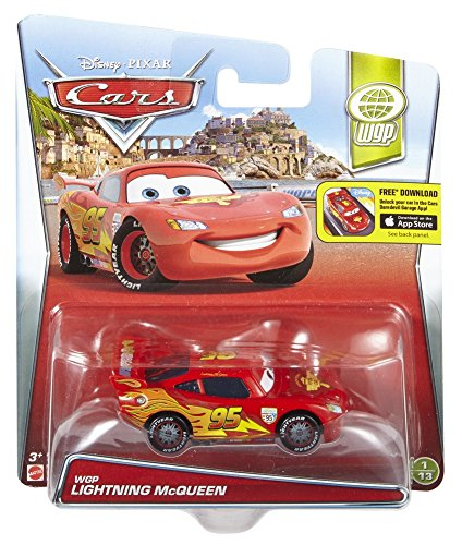 Mattel Disney/Pixar WGP Lightning McQueen Diecast Vehicle by
