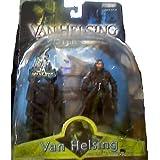 Hugh Jackman As Van Helsing Action Figure with Light Up Tower Playset - 2004 Van Helsing: Monster Slayer Movie Series by Jakks Pacific