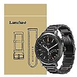 Ceston Metal Acier Classique Bracelet De Remplacement pour Montres Connectées Timex Metropolitan+ (Noir)