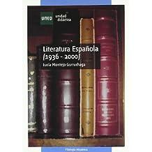 Literatura española (1936-2000) (UNIDAD DIDÁCTICA)
