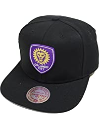 Mitchell & Ness Orlando City Team Color VR26Z MLS Snapback Cap Basecap Kappe Men