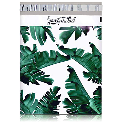 Poly Mailers Tropical Patterns 10