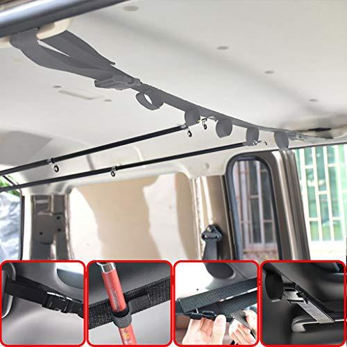 Preisvergleich Produktbild Webla - Webla - Bar im Autotransporter zum Angeln montiert,  Lagerung im Fahrzeug der Angelrute,  Angelverband,  Stand für die Angelrute für Fahrzeug,  Automobil