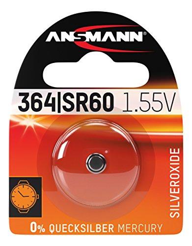 Ansmann 1516-0022 pile non-rechargeable - piles non-rechargeables (Button/coin, -20 - 60 °C, Oxyde d'argent, Argent)