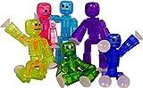 Original Stikbot Roboter Haltestelle Bewegung Animation stickbots Figur App Spielzeug sortiert