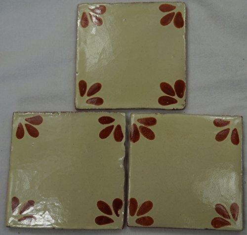 Ceramica messicano Talavera piastrelle a muro painted-made Messico terracotta Piastrelle, 10,5x (Ceramica Talavera)