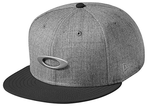 Oakley Herren O-Justable Metal Cap, Grigio Scuro, One size, 911508-23Q