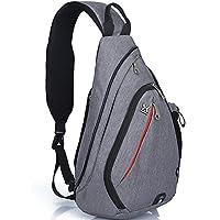 HASAGEI Sport Rucksack Schultertasche Sling Bag Herren und Damen Crossbag Brust Tasche für Wandern Camping Schule