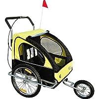 2-in-1 jogger para remolque infantil para bicicleta para remolque de bicicleta para