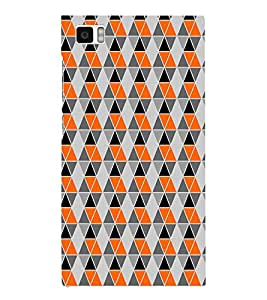 HiFi Designer Phone Back Case Cover Xiaomi Mi3 :: Xiaomi Mi 3 ( Colorful Pattern Design )