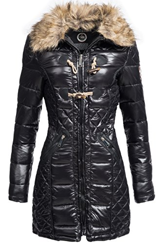 Geographical Norway - Abrigo - para mujer negro Medium