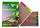 Mont Marte Pastellstifte Set - 36 Stück Pastell-Stifte - Ideale Pastellfarben mit Hoher Lichtechtheit und hochwertigen Pigmenten - Perfekte Pastellstifte für Anfänger, Profis und Künstler