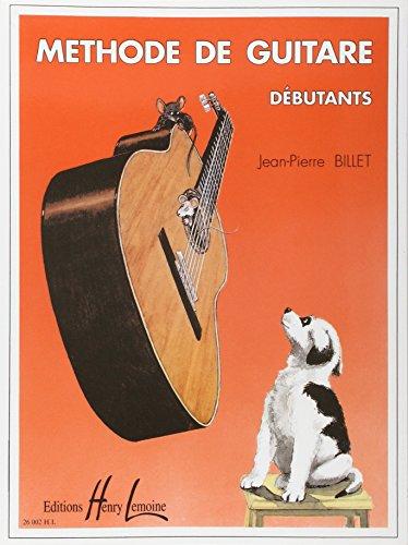 Méthode de guitare débutants par Jean-Pierre Billet
