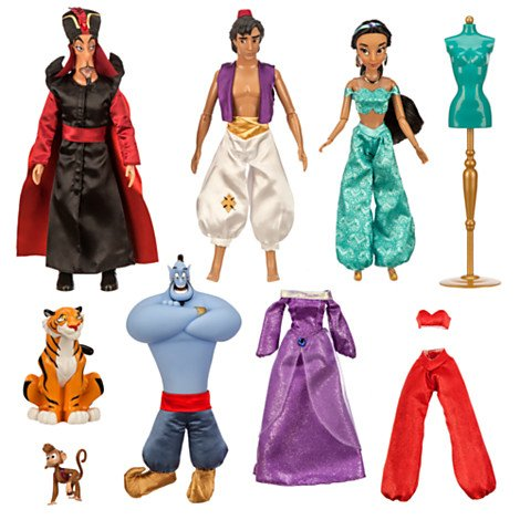 Aladdin Deluxe 11 '' Puppe-Geschenk-Set (Posable Figur Puppe)