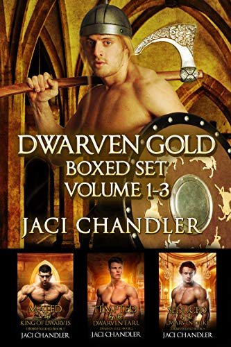 Dwarven Gold Boxed Set 1-3: Fated Mates Fantasy Romance Boxed Set (English Edition) -