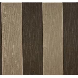 Dutch Wallcoverings 7318-2 Wallpaper Stripe Beige/Brown