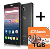 Pack Prepaid SIM Card Smartphone Alcatel Pop D5 und Orange mit 1 GB