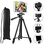 Best Tripod Mount For Galaxy Note 3s - Tripod for iPad, PEMOTech 50 Inch Aluminum Professional Review